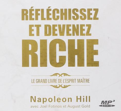 Réfléchissez Et Devenez Riche Cd Napoleon Hill Se Former